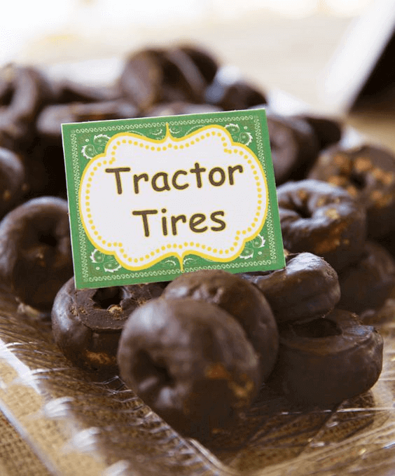 Tractor Tire Donuts