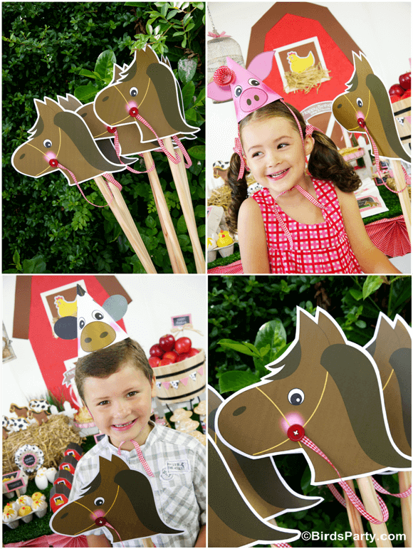 DIY Toy Horse Photo Props