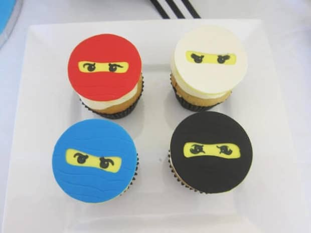 Delightful Lego Ninjago Cupcakes are simple and tasty.