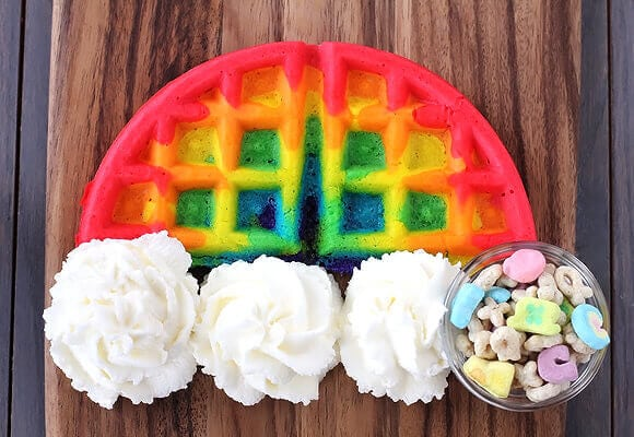 Image result for rainbow food