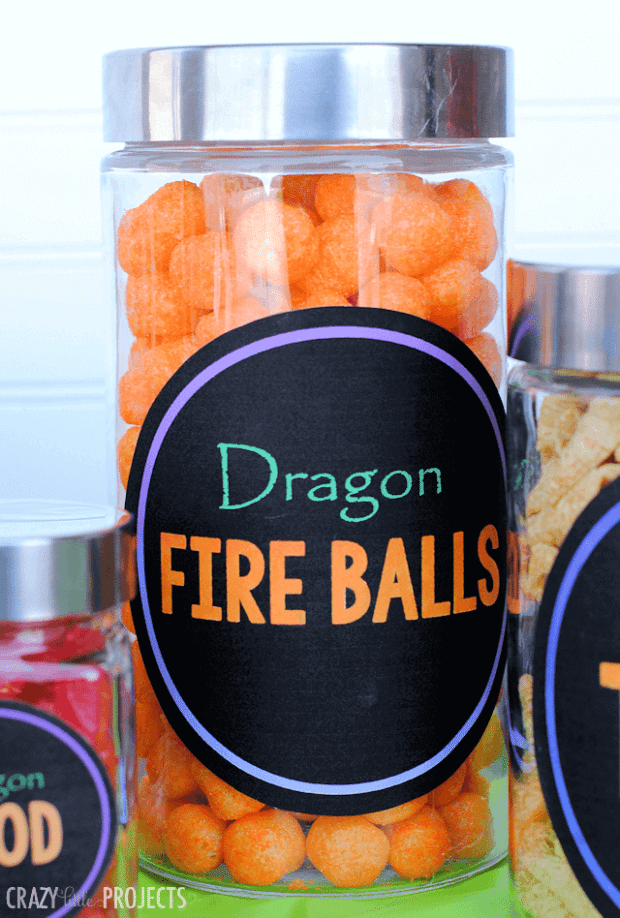 Dragon Fire Balls
