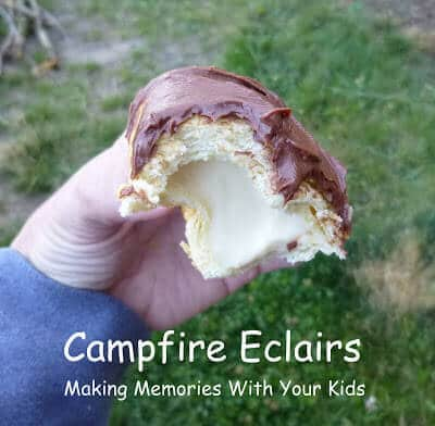 Campfire Eclairs Are Delicious Tasty Treats