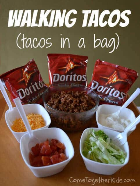 This Camp Friendly Method Of Eating And Making Tacos Is Sure To Appeal The