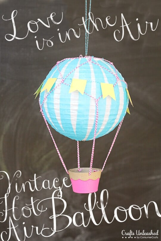 19 hot air balloon party ideas spaceships and laser beams for How to make a small air balloon