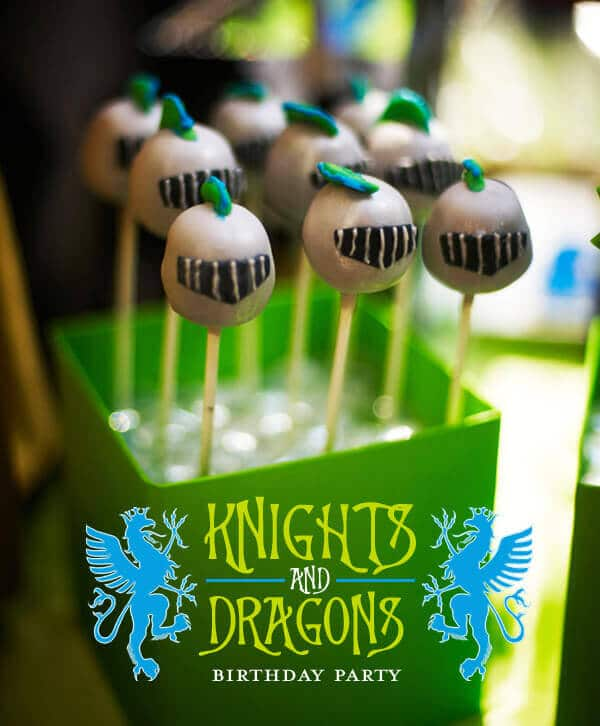 Knights and Dragons Birthday Party