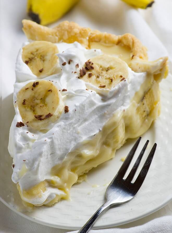 Old Fashioned Banana Creme Pie