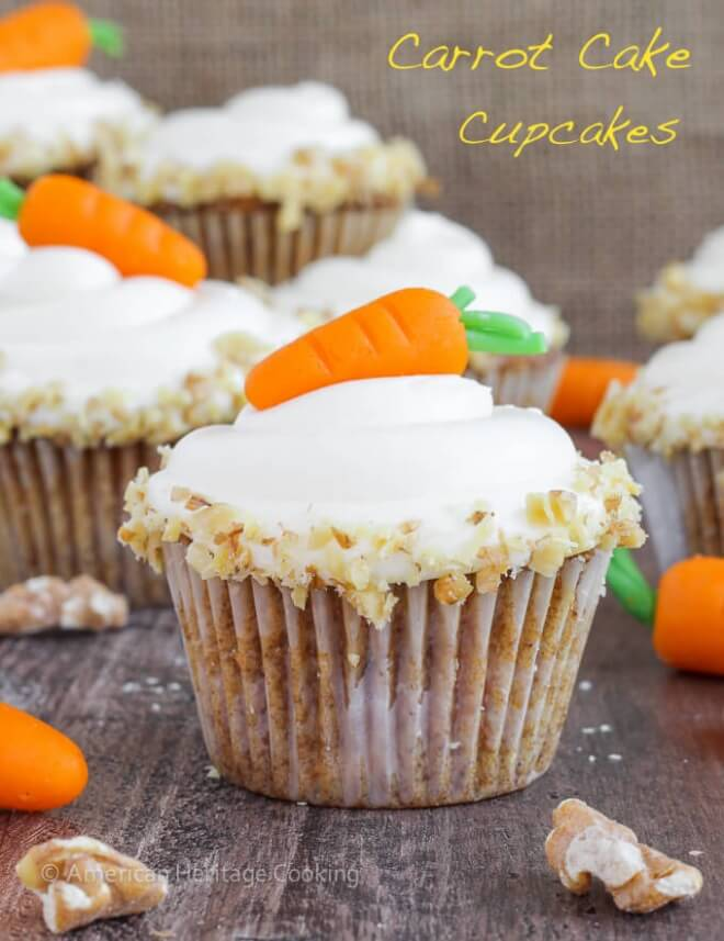 Carrot-Cake-Cupcakes-Cream-Cheese-Frosting