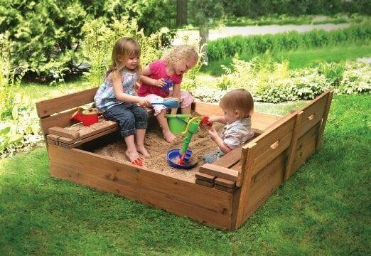 Cedar Sandbox