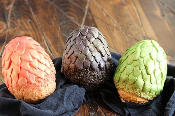 Chocolate dragon eggs