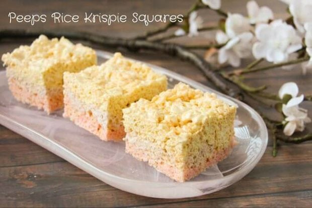 Peeps Rice Krispie Squares (1)