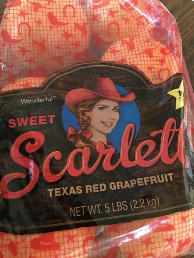 Sweet Scarlett's Red Grapefruit
