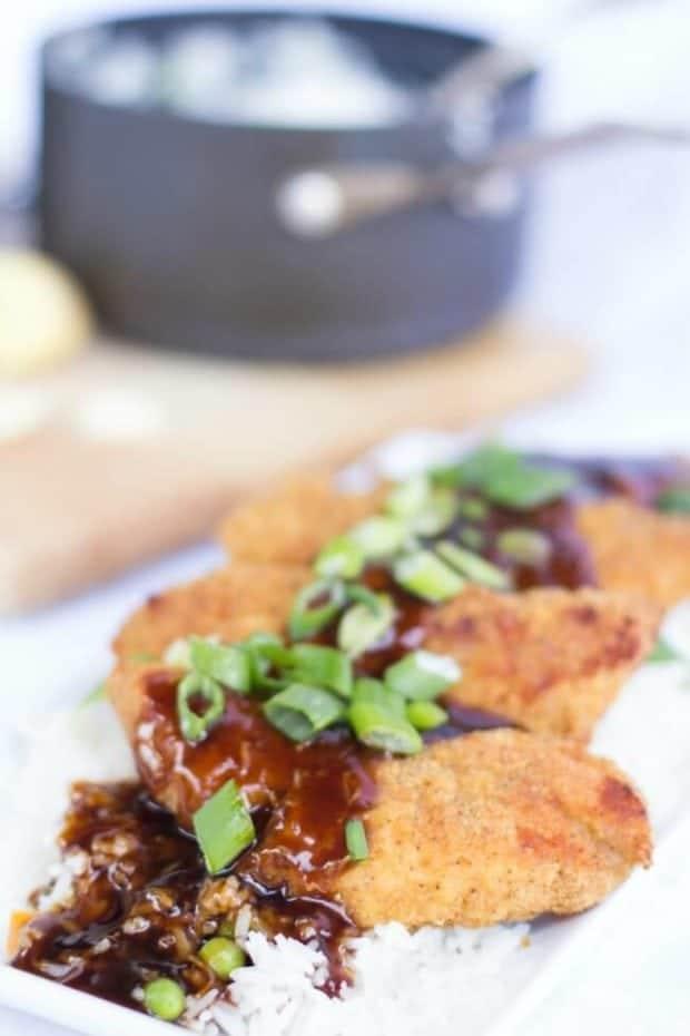 Teriyaki Chicken & Rice Recipe