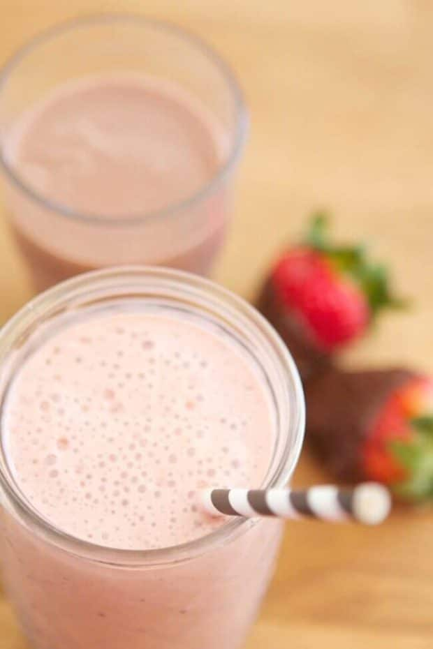 Chocolate Milk Smoothie
