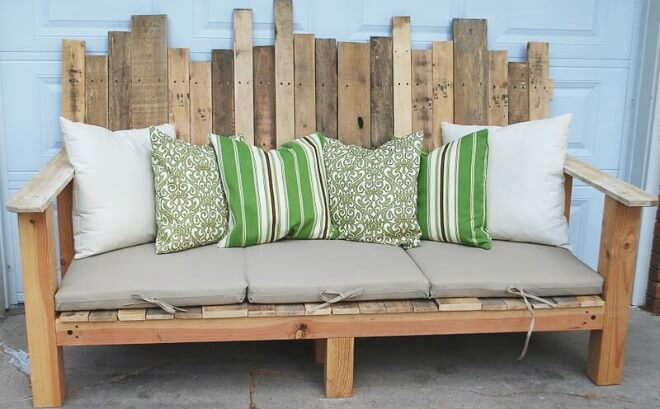Easy Diy Outdoor Daybed