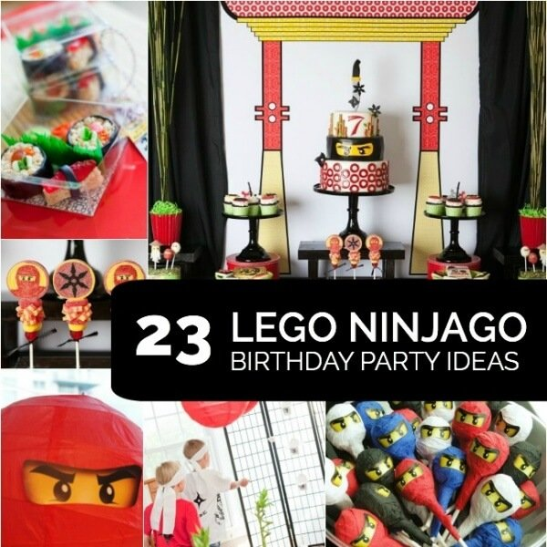 A Lego Ninjago Birthday Party