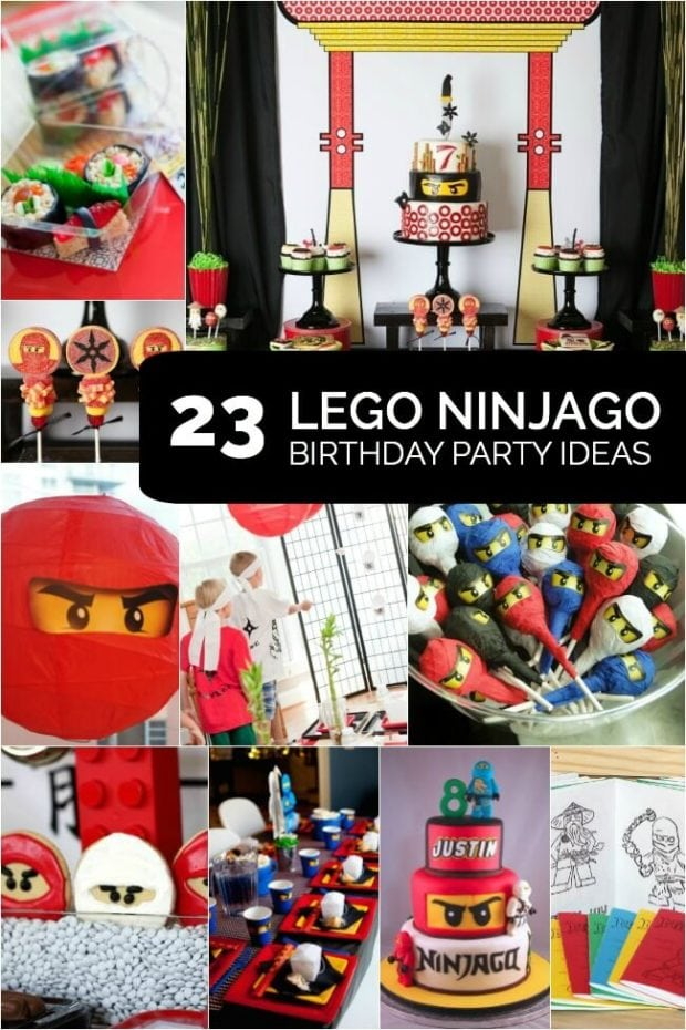 23 inspired Lego Ninjago Birthday Party Ideas from Spaceships and Laser Beams