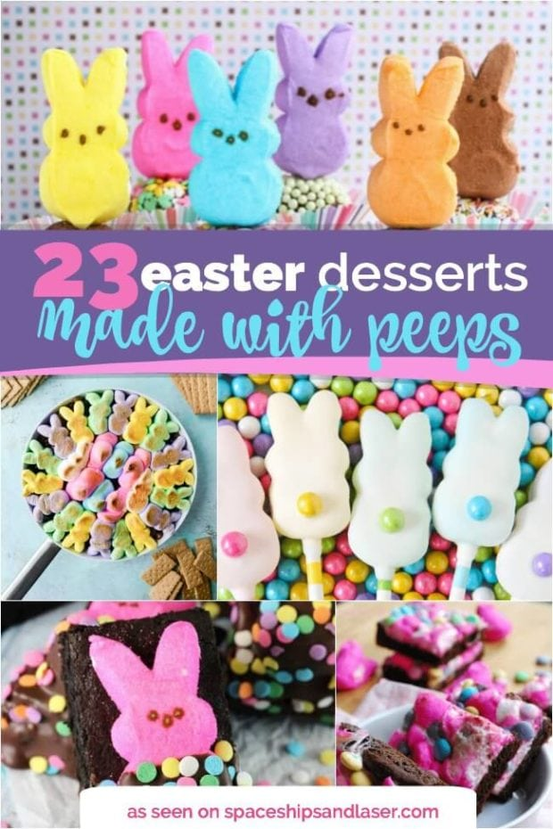 Easter Desserts Made with Peeps