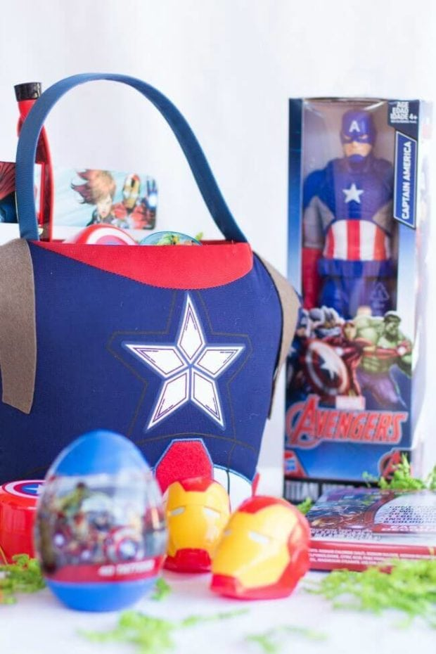 Marvel Themed Easter Egg Hunt