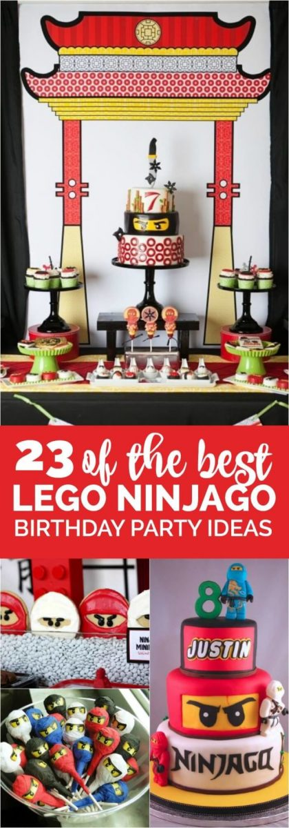 Best Lego Ninjago Birthday Party Ideas