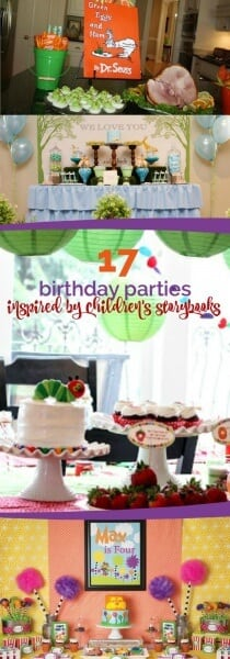 17 Birthday Parties Inspired by Children's Storybooks