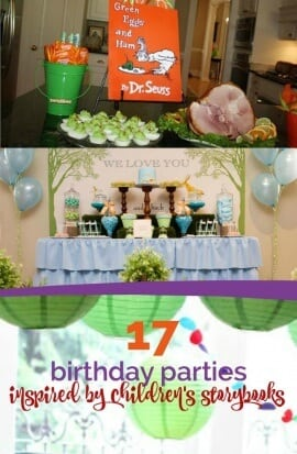 17 Birthday Parties Inspired by Children's Storybooks