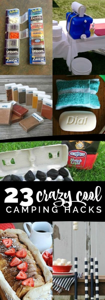 Crazy Cool Camping Tricks and Tips