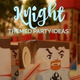 Knight Themed Boy's Birthday Party