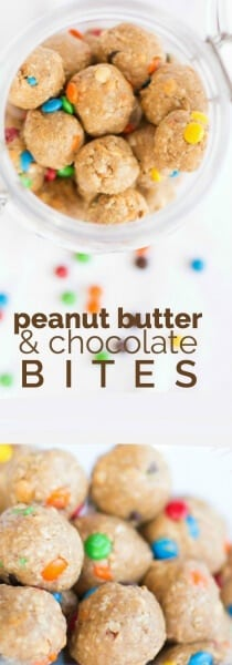 Peanut Butter & Chocolate Bites
