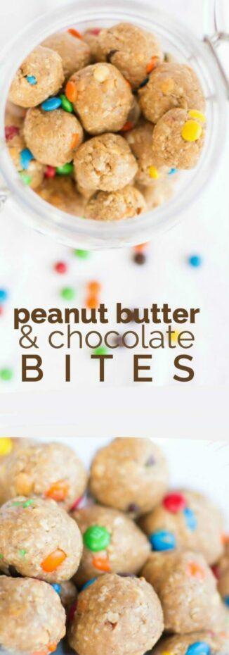 Peanut Butter & Chocolate Bites