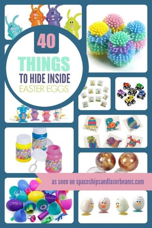 40 Things to hide inside Easter eggs from Spaceships and Laser beams.