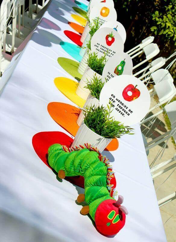 Very Hungry Caterpillar Cake Decorations