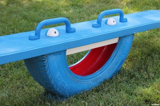 Tire Teeter Totter