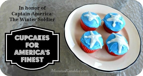 21 Captain America Cupcakes Party Ideas