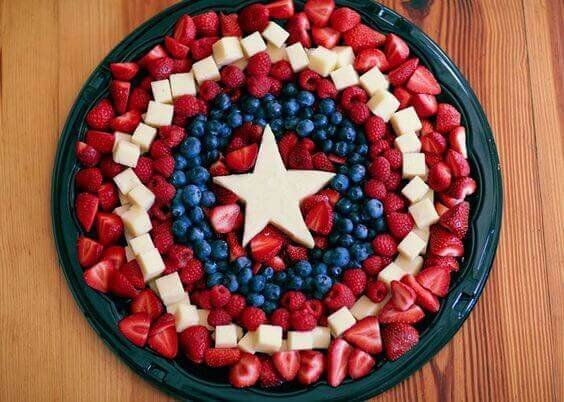21 Captain America Fruit Shield Party Ideas