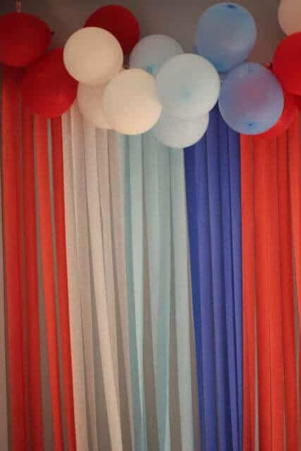 21 Captain America Decoration Party Idea
