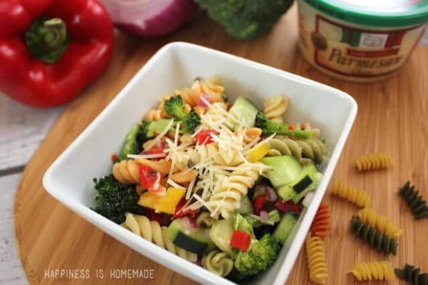 The Best Pasta Salad Recipe Ever