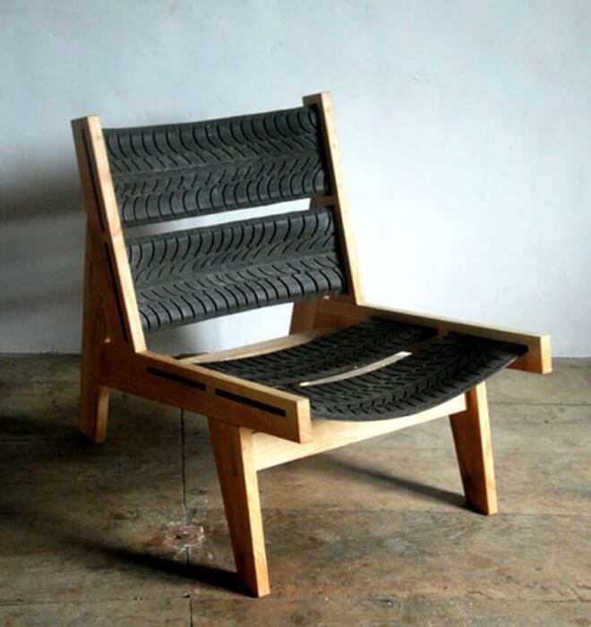 Tire Chair Project Idea