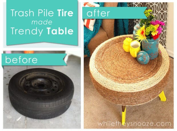 Tire Table Project Idea