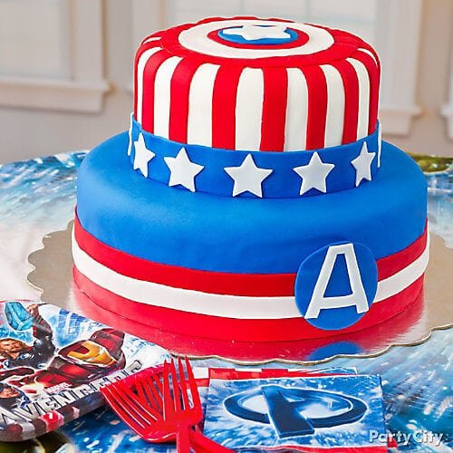 21 Captain America Party Ideas