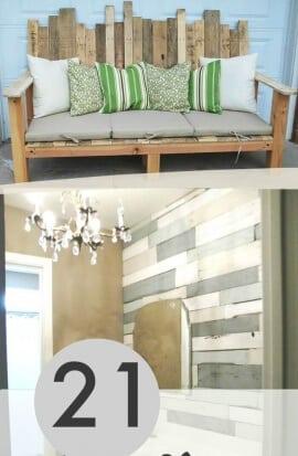 21 Creative Wood Pallet Projects Pinterest