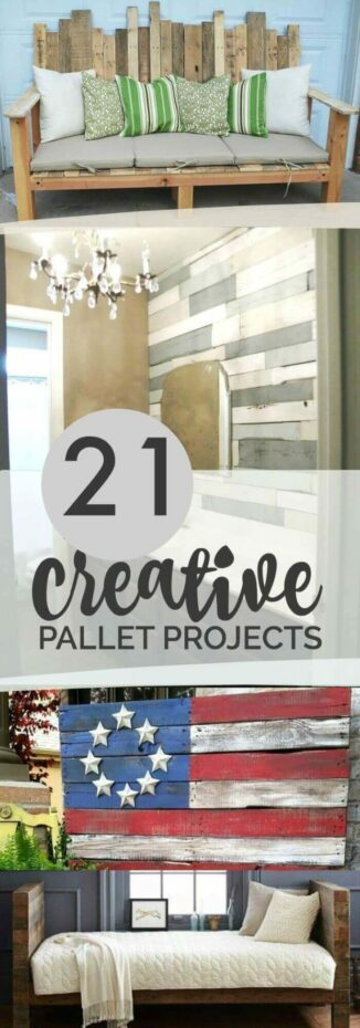 21 Creative Wood Pallet Projects Pinterest