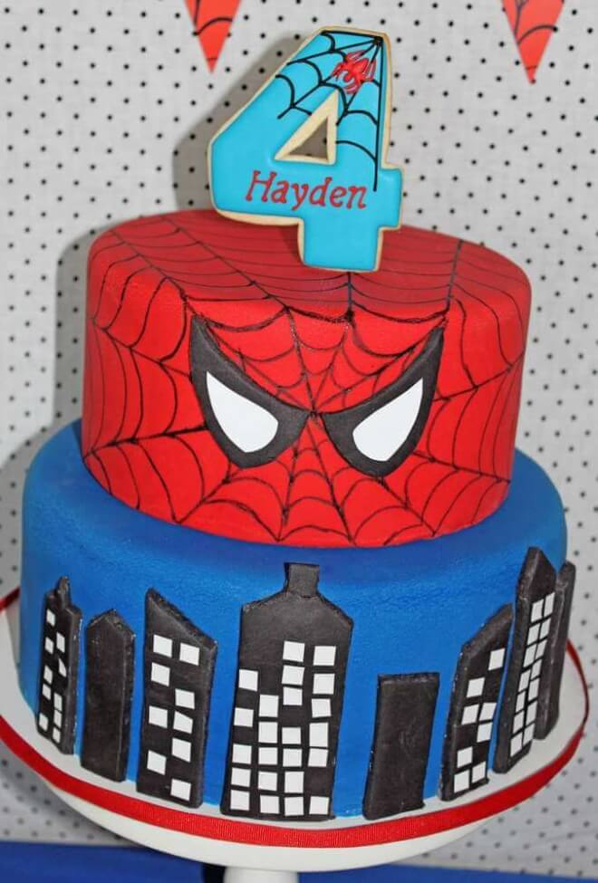 spiderman template for cake - 21 spiderman birthday party ideas spaceships and laser beams