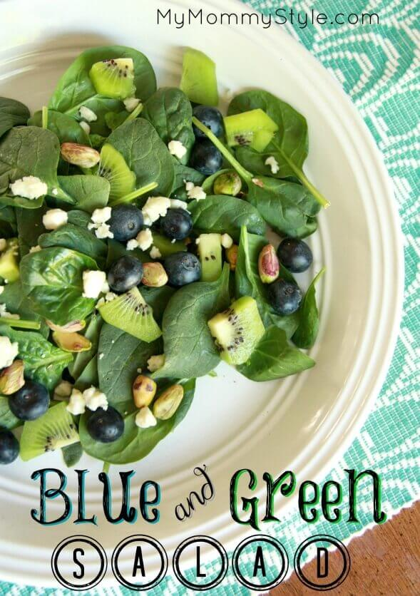 Blue & Green Salad