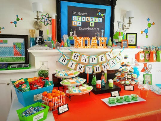 Science Lab Birthday Party Ideas