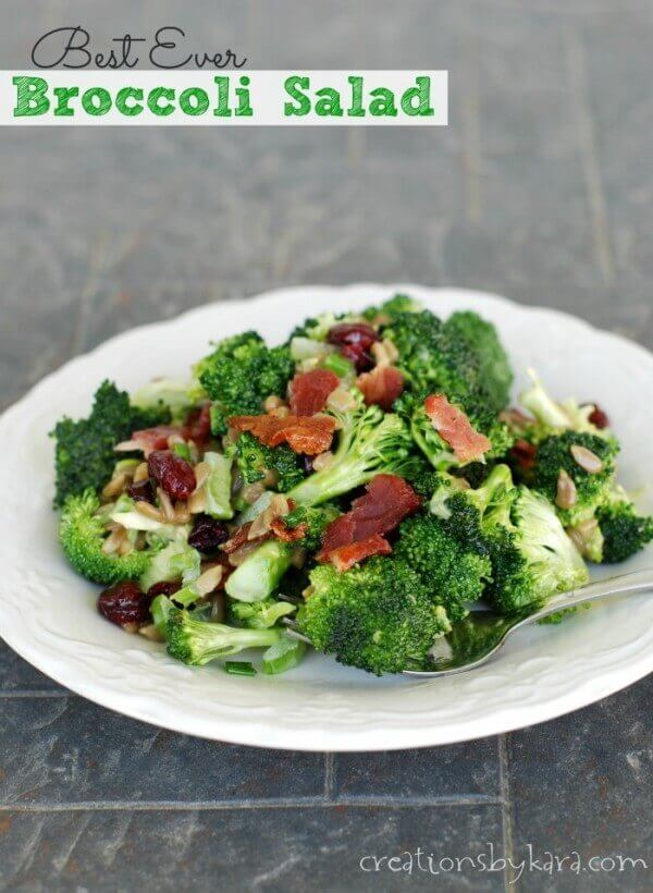 Best Ever Broccoli Salad :: Creations by Kara