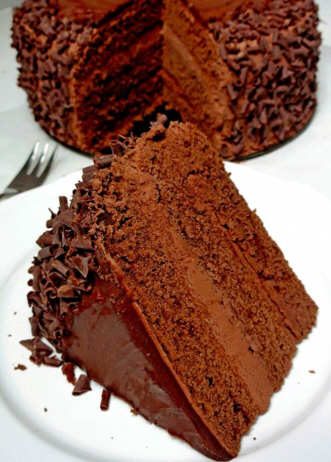 Birthday Chocolate Mousse Cake