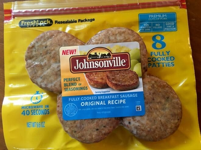 Johnsonville Fully Cooked Sausage