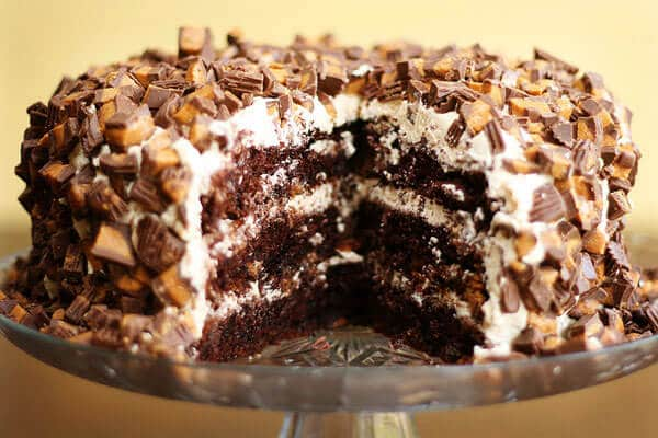 Peanut Butter Cup Chocoalte Cake