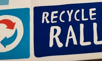 Recycle Rally Stickers Featured