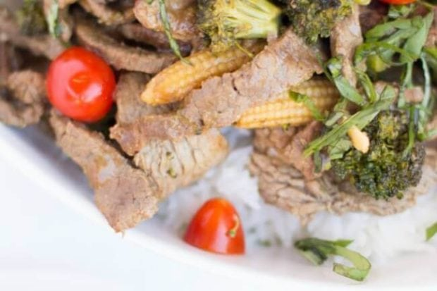 Thai Style Beef & Broccoli Stir Fry